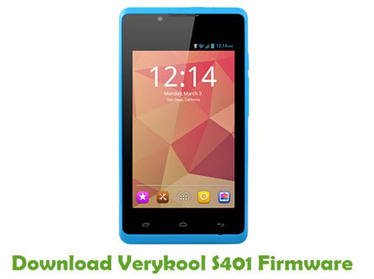 Download Verykool S401 Firmware