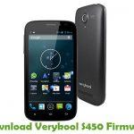 Verykool S450 Firmware