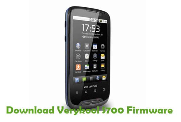 Download Verykool S700 Firmware