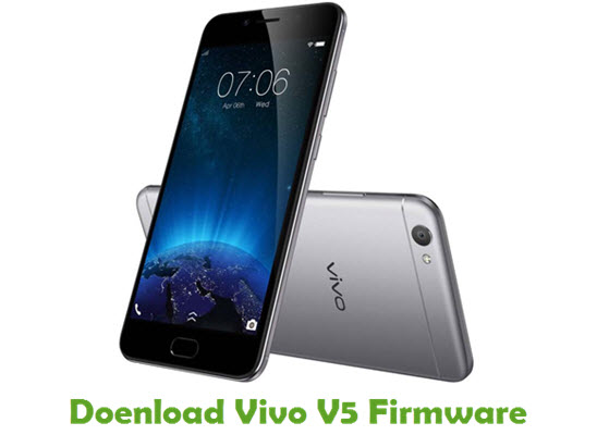 Download Vivo V5 Firmware