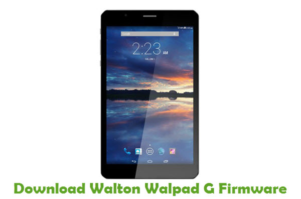 Download Walton Walpad G Firmware