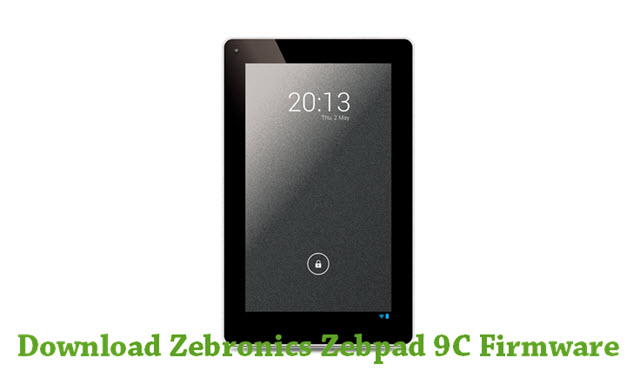 Download Zebronics Zebpad 9C Firmware