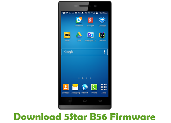 Download 5Star B56 Firmware
