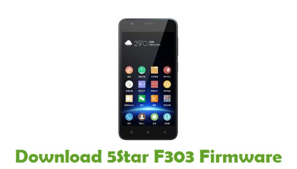 Download 5Star F303 Firmware