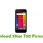 5Star T30 Firmware