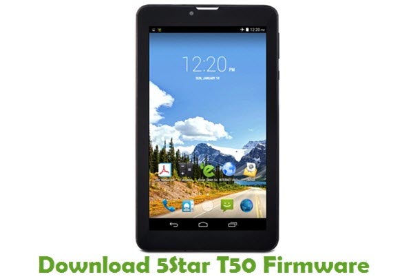 Download 5Star T50 Firmware