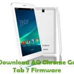 AG Chrome Go Tab 7 Firmware