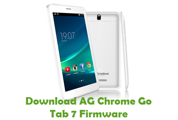 Download AG Chrome Go Tab 7 Firmware