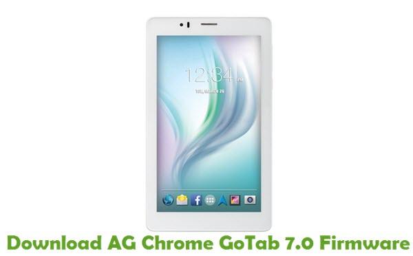 Download AG Chrome GoTab 7.0 Firmware