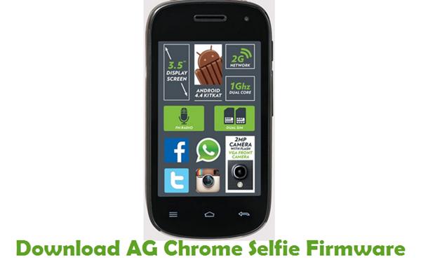Download AG Chrome Selfie Firmware