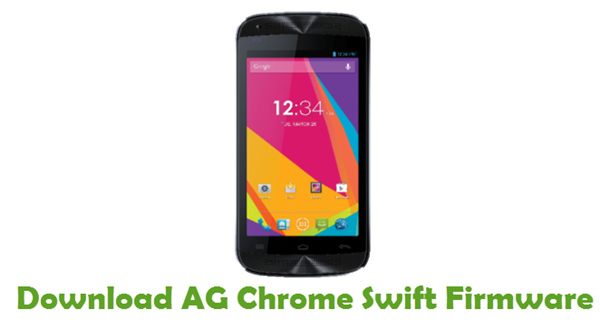Download AG Chrome Swift Firmware
