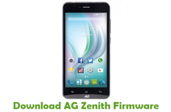 Download AG Zenith Firmware
