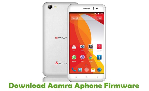 Download Aamra Aphone Firmware