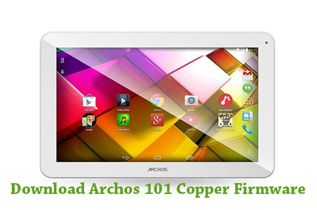 Download Archos 101 Copper Firmware