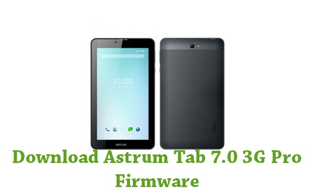 Download Astrum Tab 7.0 3G Pro Firmware