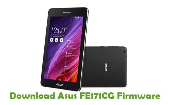 Download Asus FE171CG Firmware