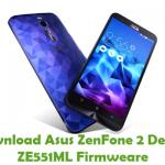 Asus ZenFone 2 Deluxe ZE551ML Firmware