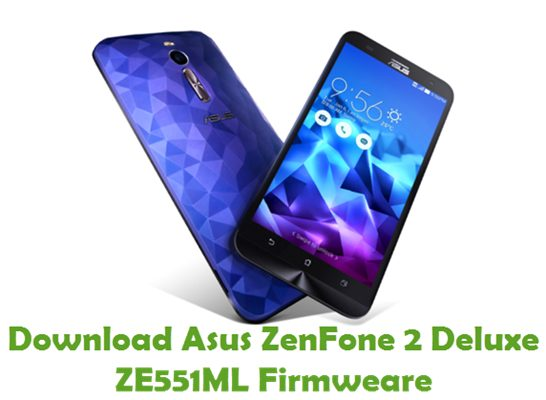 Download Asus ZenFone 2 Deluxe ZE551ML Firmware