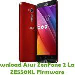 Asus ZenFone 2 Laser ZE550KL Firmware