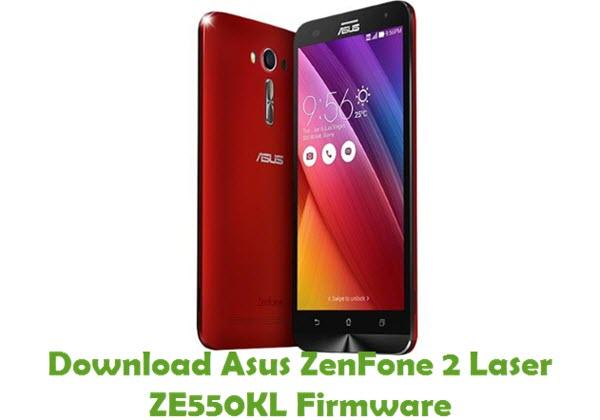 Download Asus ZenFone 2 Laser ZE550KL Firmware