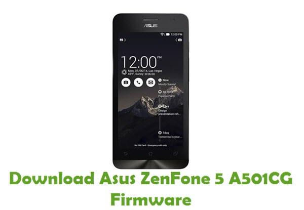 Download Asus ZenFone 5 A501CG Firmware