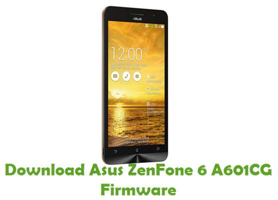 Download Asus ZenFone 6 A601CG Firmware
