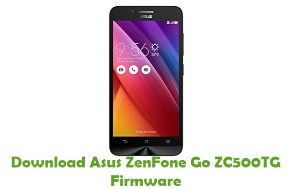 Download Asus ZenFone Go ZC500TG Firmware
