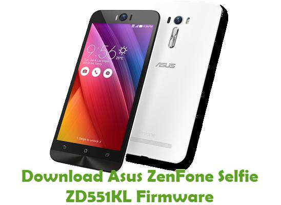 Download Asus ZenFone Selfie ZD551KL Firmware