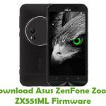 Asus ZenFone Zoom ZX551ML Firmware