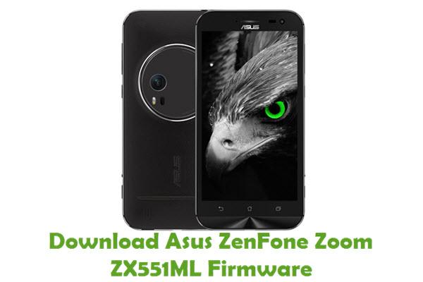 Download Asus ZenFone Zoom ZX551ML Firmware