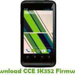 CCE SK352 Firmware