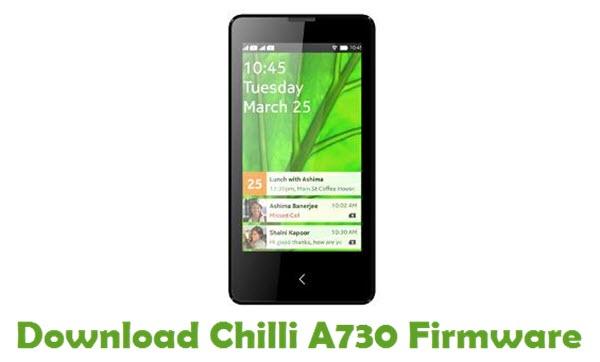 Download Chilli A730 Firmware