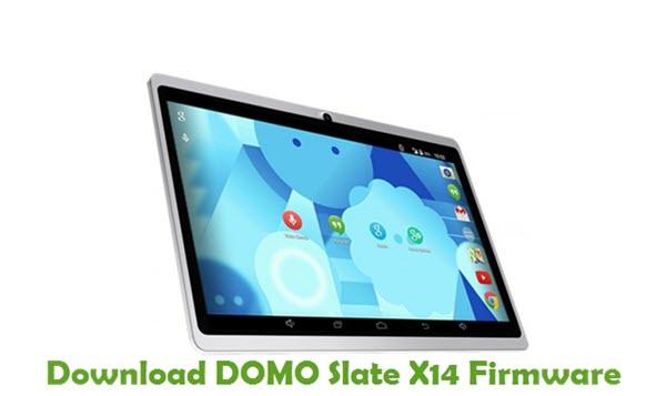 Download DOMO Slate X14 Firmware