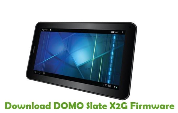 Download DOMO Slate X2G Firmware