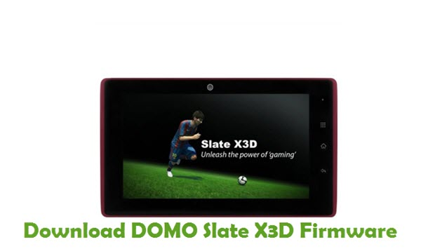 Download DOMO Slate X3D Firmware