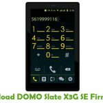 DOMO Slate X3G SE Firmware