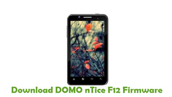 Download DOMO nTice F12 Firmware