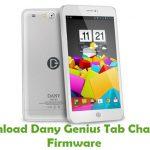 Dany Genius Tab Champ 4 Firmware