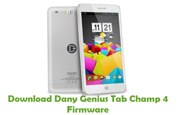 Download Dany Genius Tab Champ 4 Firmware