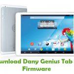 Dany Genius Tab G3 Firmware