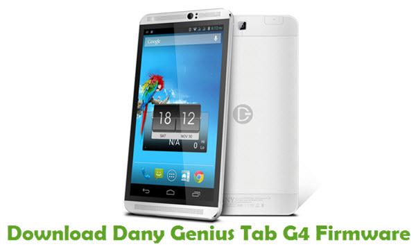 Download Dany Genius Tab G4 Firmware