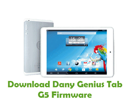 Download Dany Genius Tab G5 Firmware