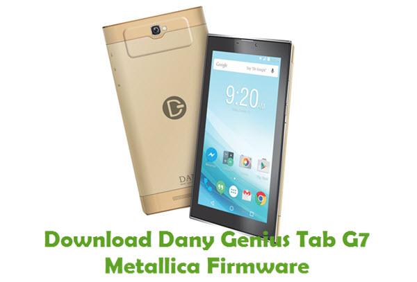 Download Dany Genius Tab G7 Metallica Firmware
