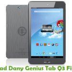Dany Genius Tab Q3 Firmware