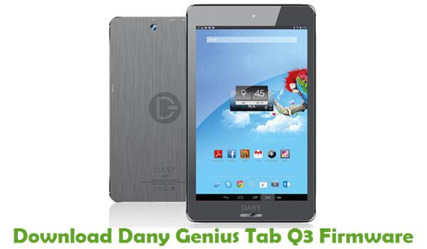 Download Dany Genius Tab Q3 Firmware