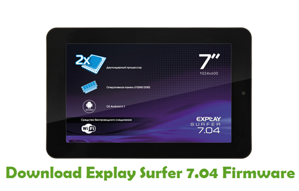 Download Explay Surfer 7.04 Stock ROM