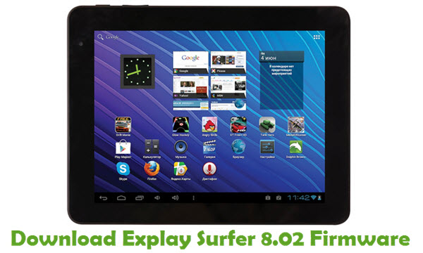 Download Explay Surfer 8.02 Stock ROM