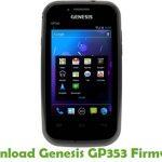 Genesis GP353 Firmware