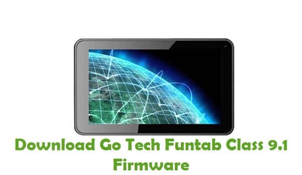 Download Go Tech Funtab Class 9.1 Firmware