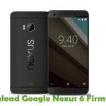 Google Nexus 6 Firmware